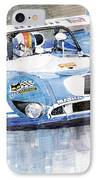Matra Simca 670 Francois Cevert IPhone Case
