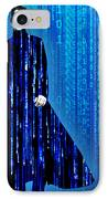 Matrix Neo Keanu Reeves IPhone Case by Tony Rubino