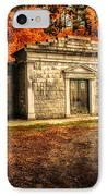 Mausoleum IPhone Case by Bob Orsillo