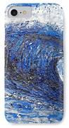 Mavericks Wave IPhone Case by RJ Aguilar
