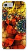 Medieval Ceremonial-fractal Art IPhone Case