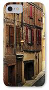 Medieval Street In Albi France IPhone Case by Elena Elisseeva