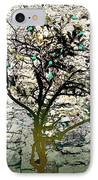 Mediterranean Garden With An Old Wall IPhone Case by Arsenije Jovanovic