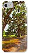 Memory Lane Oil IPhone Case