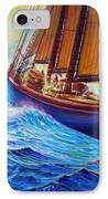 Men Of Gloucester In Warms IPhone Case by Joseph   Ruff