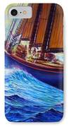 Men Of Gloucester IPhone Case by Joseph   Ruff