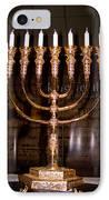 Menorah IPhone Case by Tikvah's Hope