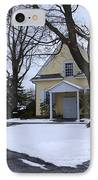 Merion Meeting House - Narberth Pa IPhone Case by Bill Cannon