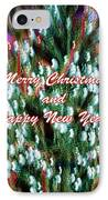 Merry Christmas 2 IPhone Case by Skip Nall