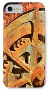 Meshing Gears IPhone Case by Phyllis Denton