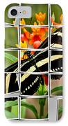 Messed Up Butterfly IPhone Case by Jean Noren