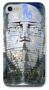 Metalmorphosis Framed IPhone Case by Randall Weidner