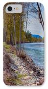 Methow River Coming From Mazama IPhone Case by Omaste Witkowski