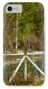 Methow River Springtime IPhone Case