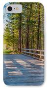 Methow Valley Community Trail At Wolf Creek Bridge IPhone Case by Omaste Witkowski