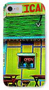 Mexican Grill IPhone Case by Chris Berry