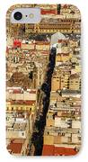Mexico City Cathedral And Zocalo IPhone Case by Jess Kraft
