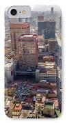 Mexico City Cityscape IPhone Case by Jess Kraft