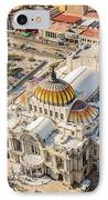 Mexico City Fine Arts Museum IPhone Case by Jess Kraft