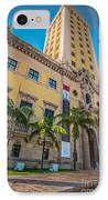Miami Freedom Tower 1 - Miami - Florida IPhone Case by Ian Monk