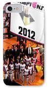 Miami Heat Championship Banner IPhone Case