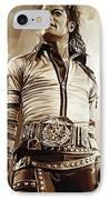 Michael Jackson Artwork 2 IPhone Case by Sheraz A