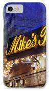 Mike's Pastry Shop - Boston IPhone Case by Joann Vitali
