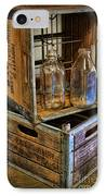 Milk Bottles And Crates IPhone Case by Lee Dos Santos