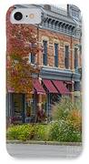 Miller Block IPhone Case by Keith Ducker