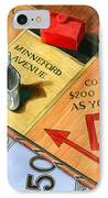 Minneford Monopoly IPhone Case