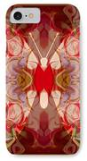 Miracles Can Happen Abstract Butterfly Artwork IPhone Case