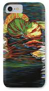 Mirrored Lilies IPhone Case
