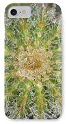 Misted Cactus IPhone Case by Summer Blackhorse