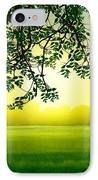 Misty Morning IPhone Case by Bedros Awak
