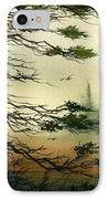 Misty Tideland Forest IPhone Case by James Williamson