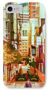 Mocca On Maiden Lane IPhone Case by Bill Gallagher