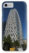 Mode Gakuen Cocoon Tower IPhone Case by David Bearden