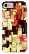 Modern Abstract Art Xvii IPhone Case
