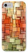 Modern Abstract Viii IPhone Case