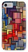 Modern Abstract Xii IPhone Case by Lourry Legarde