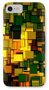 Modern Abstract Xxii IPhone Case by Lourry Legarde