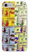 Modern Art Money IPhone Case