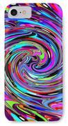 Molten Color IPhone Case by RJ Aguilar