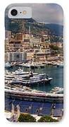 Monaco Panorama IPhone Case by David Smith