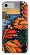 Monarch Butterflies At Natural Bridges IPhone Case by Jen Norton