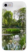 Monet's Water Garden At Giverny IPhone Case by Alex Cassels