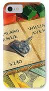 Monopoly On City Island Avenue IPhone Case