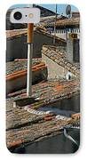 Tile Rooftops Of France IPhone Case