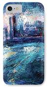 Montreal At Night IPhone Case by Ion vincent DAnu
