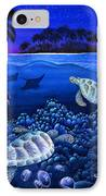 Moon Glow IPhone Case by Carolyn Steele